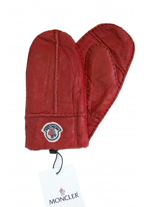 Manusi copii Moncler red
